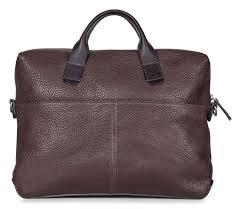 ecco ioma slim briefcase bags casual bags ecco usa