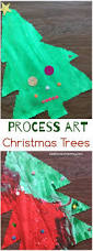 process art christmas trees kids christmas trees process art