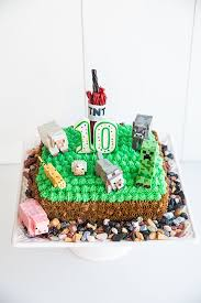 25 easy minecraft cake ideas craft cake