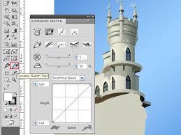 create a fairy castle drawscribe plugin part2 illustrator