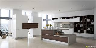cuisine brun et blanc cuisine blanc bois cheap with cuisine blanc bois element
