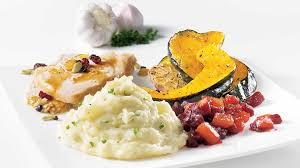 cuisine dinde roast turkey and trio of side dishes iga recipes potatoes beets