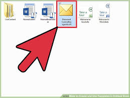 how to create and use templates in outlook email with sample