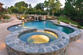 pools with spas top 5 design options for pool spa combos luxury
