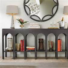 stanley furniture sofa table stanley furniture crestaire brooks flint console table