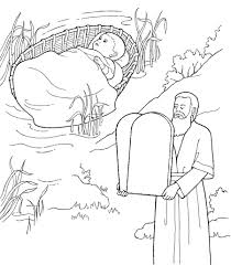 ten commandments coloring pages eson me