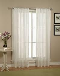 Windows Curtains by Decor Semi Sheer Curtains For Cute Interior Home Decor Ideas