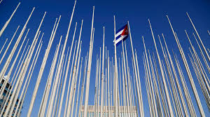 Cuban Flag Images U S To Reduce Cuba Embassy Staff Over Health Attacks Axios