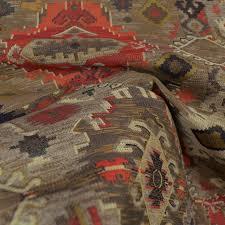 Upholstery Fabric Southwestern Pattern Zepher Redstone Regal Southwest Fabric Traditional Drapery