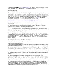 Resume Samples With Summary by Good Resume Summary Resume For Your Job Application