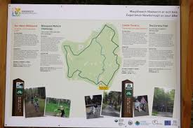Map A Bike Route by Maps And Signs Newborough Anglesey