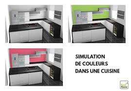 simulateur couleur cuisine avec peinture pour meubles et murs idees