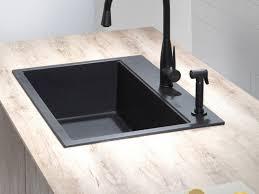 faucet modern single sinks kitchen types bowl black ony granite