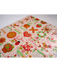 ladybug wrapping paper don t miss this bargain vintage 1970s birthday wrapping paper