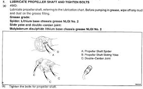 propeller shaft maint toyota 4runner forum largest 4runner