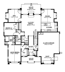 craftsman style house plan 2 beds 2 00 baths 1657 sq ft plan