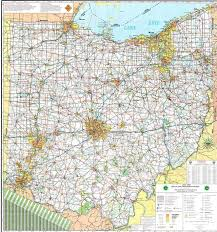 ohio map of cities the 25 best cleveland map ideas on