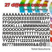 adhesive numbers furniture u0026 diy ebay