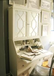 Cream Desk With Hutch Eddie Ross U0027 Painted Hutch Redo