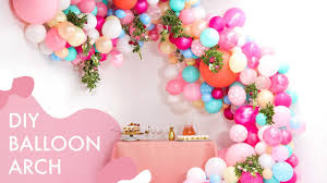 wedding arch balloons diy floral balloon wedding arch makeful