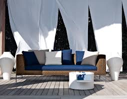 BB ITALIA CHARLES OUTDOOR SOFA - Modern outdoor sofa