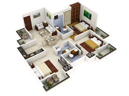 15 3 bedroom house designs 3d floor plan design for sale marvelous