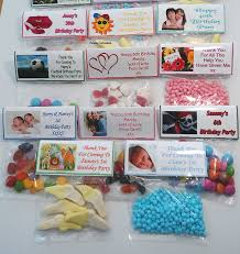 party favours 50 personalised diy sweet bag wrappers birthday party favours free
