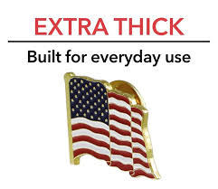 How Many Stars On Us Flag Amazon Com American Flag Lapel Pin Proudly Made In Usa 1 Piece