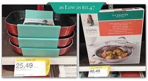 target black friday cookware giada de laurentiis cookware as low as 11 47 at target the