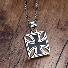 vintage mens necklace images Buy mprainbow mens necklace stainless steel jpg
