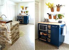 storage kitchen island kitchen island with storage and custom blue color movable kitchen