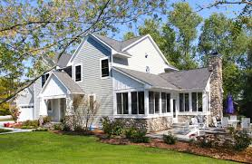 custom house exteriors lakefront homes gallery homes