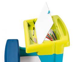 bureau petit ecolier smoby bureau petit ecolier bleu bureaux loisirs créatifs produits