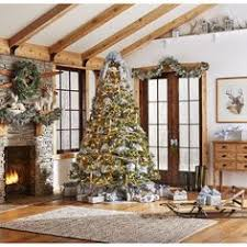 Themed Christmas Tree Decorating Kits by Jaclyn Smith Midnight Clear Christmas Tree Trim Kit Kmart Themed