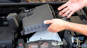 2011 toyota rav4 filter 2006 2008 toyota rav4 engine air filter replacement