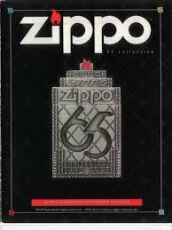 American Flag Zippo 1999 Full Line Zippo Catalog