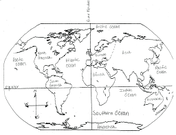 north america blank map quiz with answers
