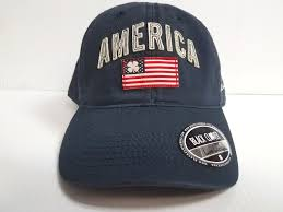 American Flag Snapback Hat American Flag Black Clover Cap Vintage America Crew 2 Navy