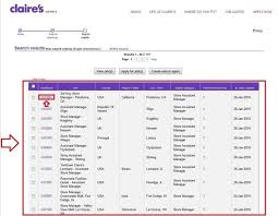how to apply for claire u0027s jobs online at claires com careers
