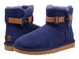ugg womens amelia boots chocolate lyst ugg aurelyn in blue