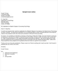 sample cover letter for college 10 cover letter example student