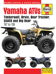 yamaha yfm350 atv owners workshop manual models covered