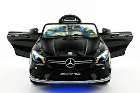 black and pink mercedes moderno kids electric ride on cars for kids