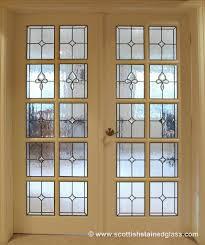 mosaic glass door doorway