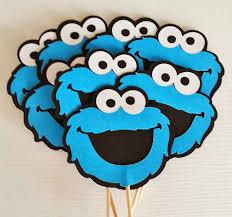 Blog 187 Blog Archive 187 by Cookie Monster Template Cookie Monster Felt Magnet How To Make A