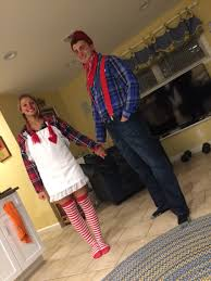 raggedy ann and andy costume couple halloween costumes