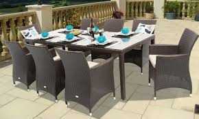 Wicker Patio Dining Set - outdoor dining plate sets video and photos madlonsbigbear com