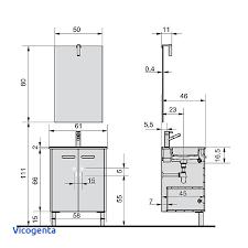 profondeur meuble cuisine hauteur standard meuble cuisine fabulous dimension meuble de