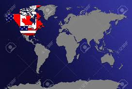 Canada And Usa Map by Usa And Canada Map Canada Map Clipart Map United States Of