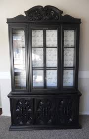Black China Cabinet Hutch by Best 25 China Cabinet Redo Ideas On Pinterest Painted China